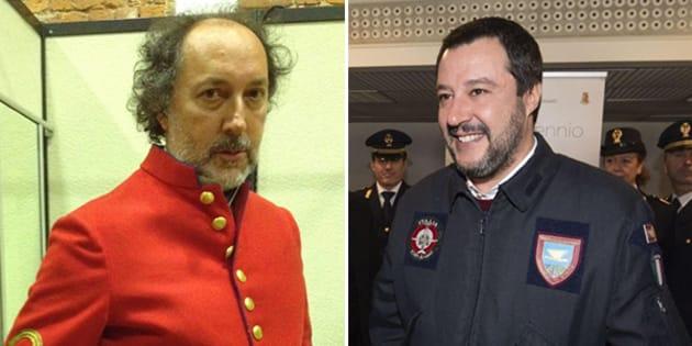 Matteo Salvini e le divise, outfit di ogni regime