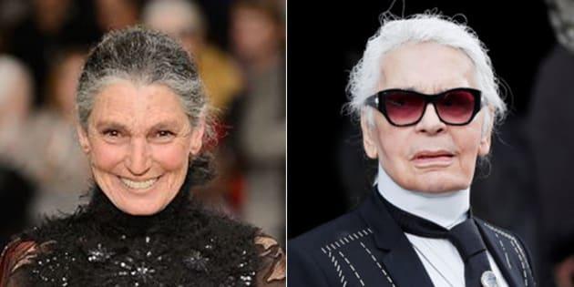 """Benedetta Barzini: """"Lagerfeld? Un talento sprecato usato a servizio dell'immagine di qualcun altro"""""""