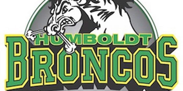 The team logo of the Humboldt Broncos of the Saskatchewan Junior Hockey League is shown in a handout.