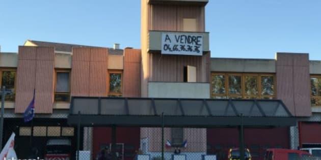 Les pompiers du Gard vendent leur caserne sur leboncoin