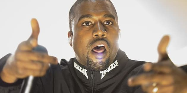 This is probably what Ye looked like after dissing TSwift.