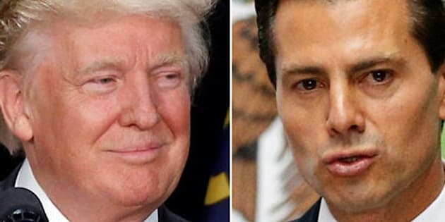 Donald Trump is traveling to Mexico City on Wednesday to meet with Mexican President Enrique Pena Nieto