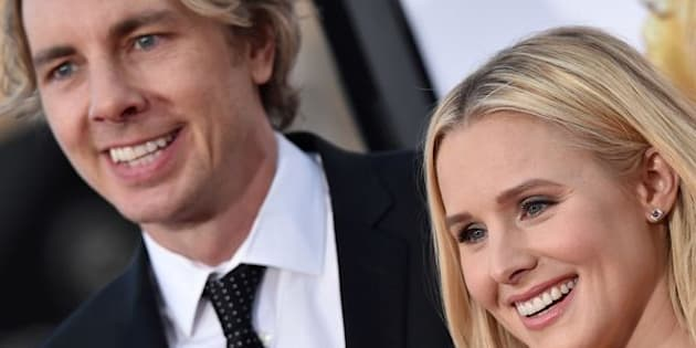 Dax Shepard and Kristen Bell in March 2016 in Westwood, California.