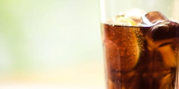 Consuming a lot of soda or other sugary drinks may be tied to an increased risk for some rare cancers.