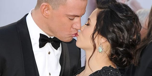 HOLLYWOOD, CA - FEBRUARY 24:  Channing Tatum and Jenna Dewan arrives at the 85th Annual Academy Awards at Dolby Theatre on February 24, 2013 in Hollywood, California.  (Photo by Steve Granitz/WireImage)