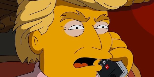 """Donald Trump on """"The Simpsons"""""""