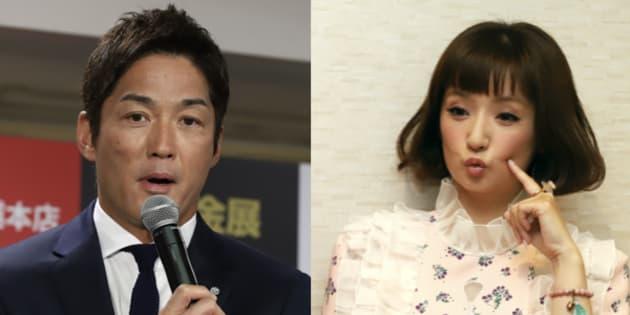 長嶋一茂さん(左)と千秋さん
