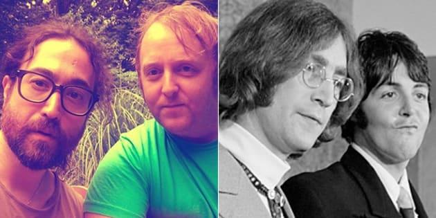 Il selfie dei figli di Lennon e McCartney fa sognare i fan dei Beatles