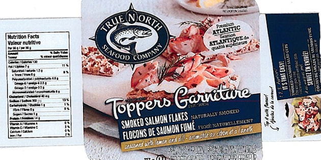 The Canadian Food Inspection Agency is recalling a flaked salmon product from a New Brunswick firm over concerns of listeria contamination.