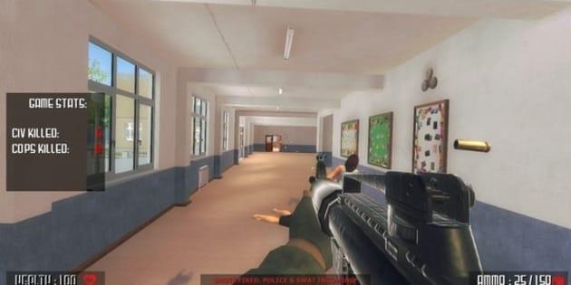 Ce jeu video qui propose d'incarner un tueur de masse sur un campus fait polémique.