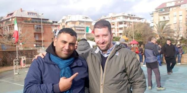 Roberto Spada e Luca Marsella: foto da Facebook