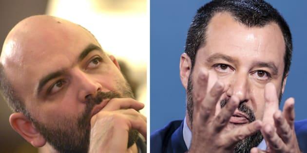 """Saviano: """"Salvini"""
