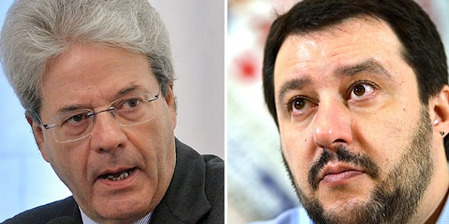 "Gentiloni risponde a Salvini: ""Ieri i rifugiati, oggi i"