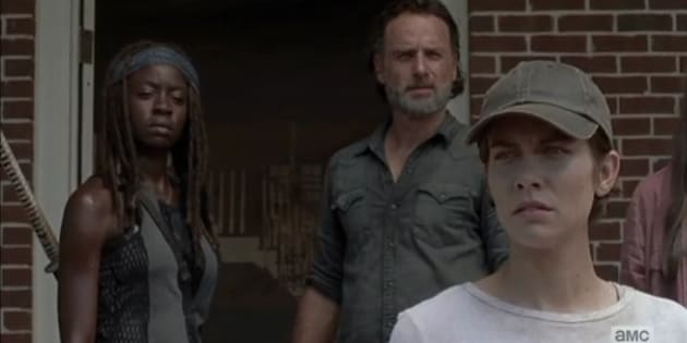 Rick, Maggie et les autres survivants se rendent à la Colline dans l'épisode 9 de la saison 7.