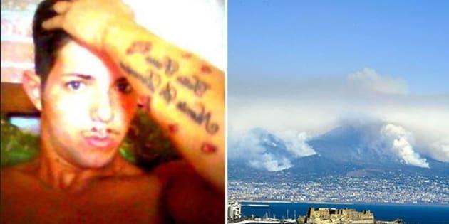 Napoli, arrestato piromane di Torre Annunziata: ha incendiato 10mila ettari sul Vesuvio