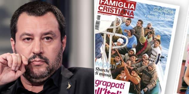 """Famiglia Cristiana risponde a Salvini: """"Noi voce libera"""