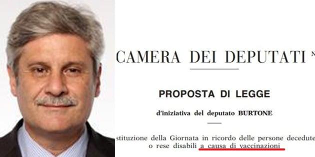 Risultati immagini per Giovanni Mario Salvino Burtone VACCINI PD