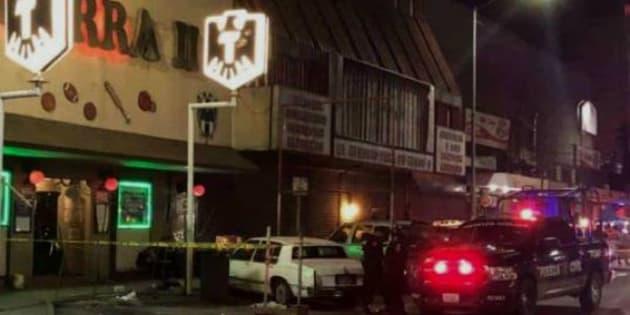 En el Bar La Jarrita II, ubicado en el Centro de Monterrey, frente a la Central de Autobuses, el ataque armado dejó una persona herida.
