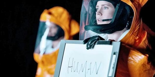 """A still from """"Arrival"""" featuring Amy Adams."""