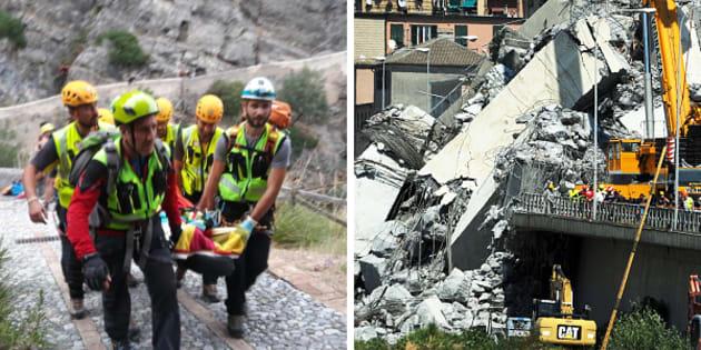 Dal crollo di Genova alla tragedia del Pollino: il napoletan
