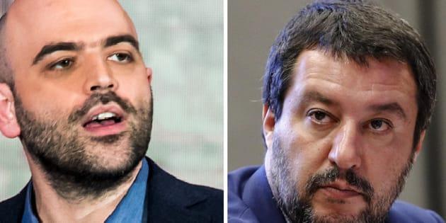 Roberto Saviano - Matteo Salvini