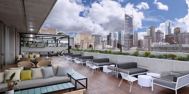 The Rooftop at QT in Melbourne is newly opened and ready for summer.