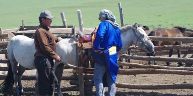 Je suis végétarien et voici ce que ma rencontre avec un éleveur mongol m'a fait réaliser sur l'écologie.
