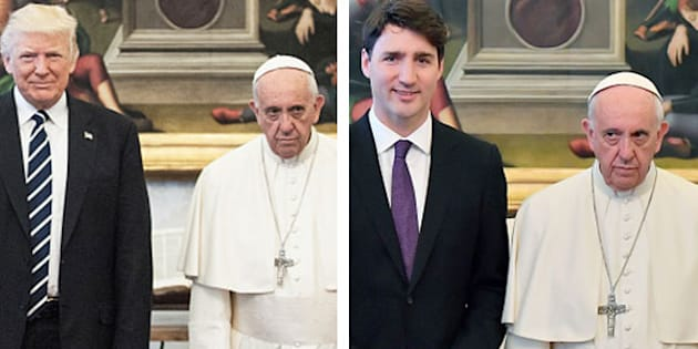 Dopo Trump, oggi dal Papa è stato il turno di Trudeau