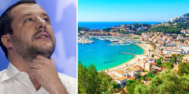 Migranti, Salvini dichiarato persona