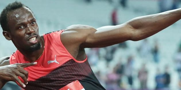 Sure, he can sprint and pose, but can Usain Bolt break 5 minutes in the mile?