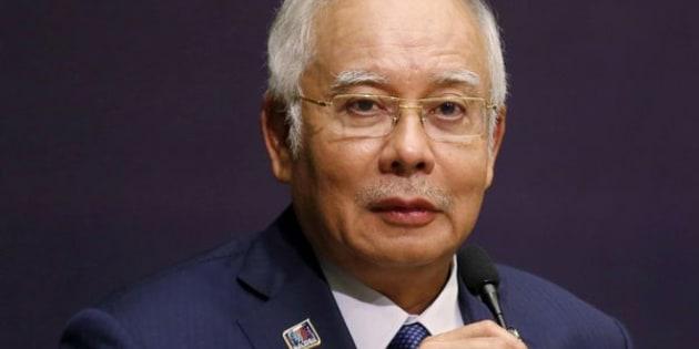 Malaysia's Prime Minister Najib Razak speaks at the opening of a conference in Kuala Lumpur, Malaysia, January 25, 2016. REUTERS/Olivia Harris/File Photo