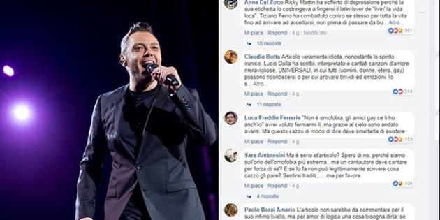 """Articolo di Rolling Stone fa arrabbiare i fan di Ferro: """"Gay non possono cantare l"""