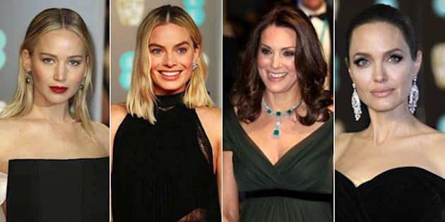 Kate Middleton non segue il total black delle donne al Bafta