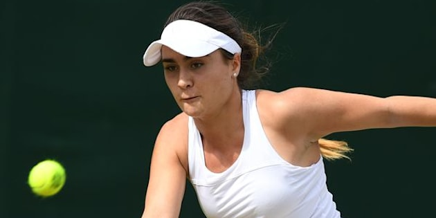 British tennis player Gabriella Taylor spent four days in intensive care.