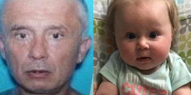 Virginia State Police say seven-month-old Emma Grace Kennedy was taken by 51-year-old Carl Ray Kennedy, a registered North Carolina sex offender.