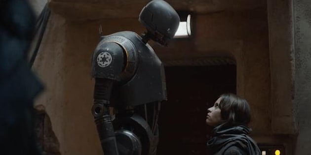 K-2SO, le nouveau droïde de Rogue One.