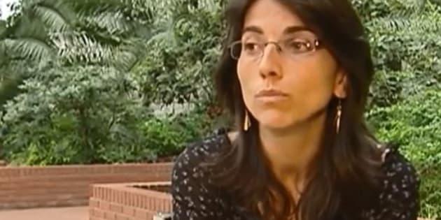 Claire Thépaut (ici en 2006, filmée pour un reportage de France 2), la juge dans le viseur de Marine Le Pen (et de Sarkozy avant elle)