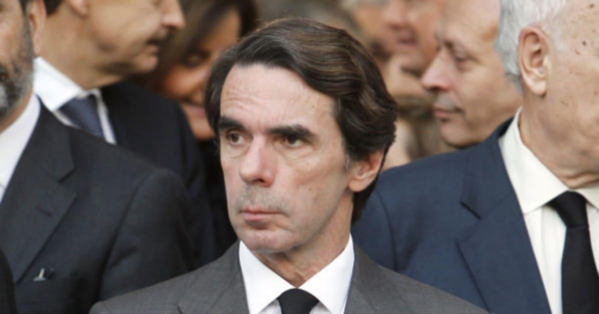 Y Aznar, haciéndose el longui