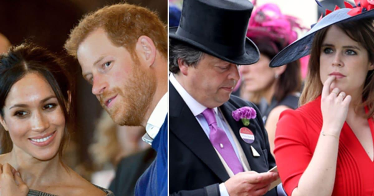 Matrimonio Meghan E Harry : La principessa eugenia costretta a ritardare il suo