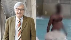 """La soluzione di Sgarbi contro i bagni nelle fontane di Roma: """"Facciamo pagare il"""