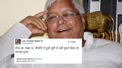 Sushil Kumar Modi And Lalu Prasad Yadav Had The Most Epic Exchange On Twitter After BJP's UP
