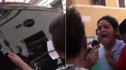 Tre deputati del Pd aggrediti e insultati da alcuni manifestanti No-Vax. Renzi: