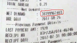 Not Fake News: Jharkhand Man Receives Electricity Bill Of ₹38