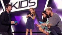 Valentina, 7 ans, a mis le jury de