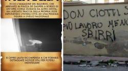 Il sindaco di Locri mette la taglia sul vandalo che scrisse insulti contro Don