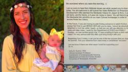 Studentessa-lavoratrice salta la lezione perché nessuno può tenere la figlia. La risposta della prof è