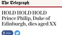 Décidément, la presse anglaise veut déjà enterrer le prince