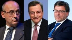 Tenaglia leghista contro Draghi. Savona torna a pungere, M5S non si