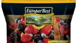 Rappel de mélanges de petits fruits de marque Europe's