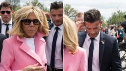 Il body guard dei Macron ha rubato i riflettori alla coppia